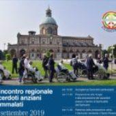 5° incontro regionale sacerdoti anziani e ammalati – 19 settembre 2019