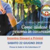 Come aiutare la persona in carrozzina – 22 giugno 2019