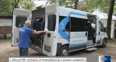 Unitalsi Lombarda e Paradressage 2019: il servizio del TGR Lombardia