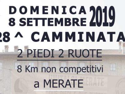 28^ Camminata 2 piedi 2 ruote – Domenica 8 settembre