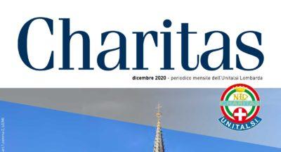 Il numero di dicembre di Charitas anche online