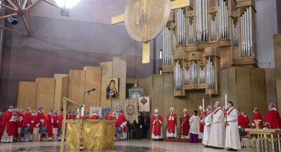 Prima giornata a Lourdes, 21 settembre 2021 – Basilica Santa Bernadette