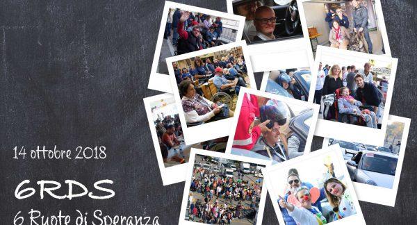 6 Ruote per la speranza – Monza, 14 ottobre