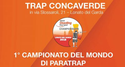 Lonato 2018 World Shooting Para Sport Para Trap