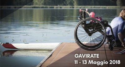Para-Rowing di Gavirate, 11-13 maggio 2018