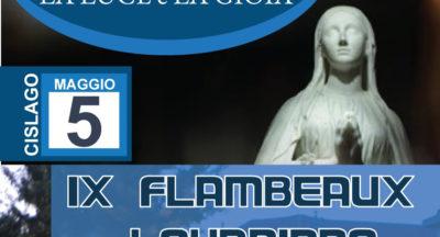 La luce e la gioia. IX Flambeaux lourdiano. Cislago