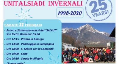 Unitalsiadi invernali 24^ edizione – 22-23 febbraio 2020