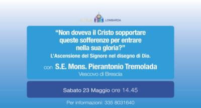 """""""Non doveva il Cristo sopportare queste sofferenze per entrare nella sua gloria?"""" con S.E. Mons. Pierantonio Tremolada"""