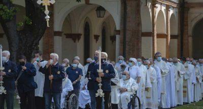 Virtualmente in pellegrinaggio: VI giornata dei sacerdoti anziani e ammalati a Caravaggio organizzata dall'UNITALSI Lombarda