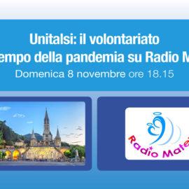 Unitalsi: il volontariato nel tempo della pandemia su Radio Mater