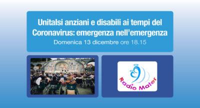 Unitalsi anziani e disabili ai tempi del Coronavirus: emergenza nell'emergenza