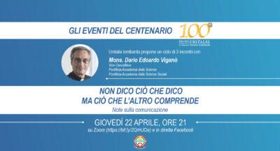 Gli Eventi del Centenario, con Mons. Viganò – Video del secondo incontro